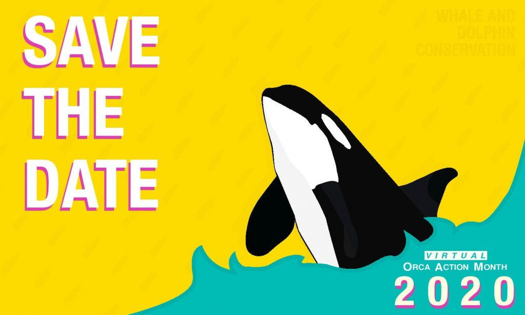 Orca Action Month save the date - June 2020